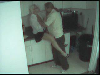 Секс с камер охраны