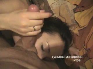 Страстный минет от татарочки гульназ