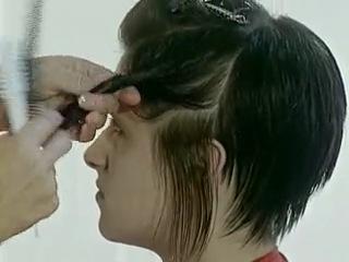 Видеоуроки женская стрижка молодежная