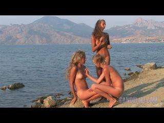 Девушки-нудистки в Крыму - смотреть видео