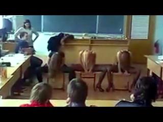 Стриптиз перед одноклассниками в школе   Подарок на 23 февраля   Будущие мамы - смотреть видео онлайн